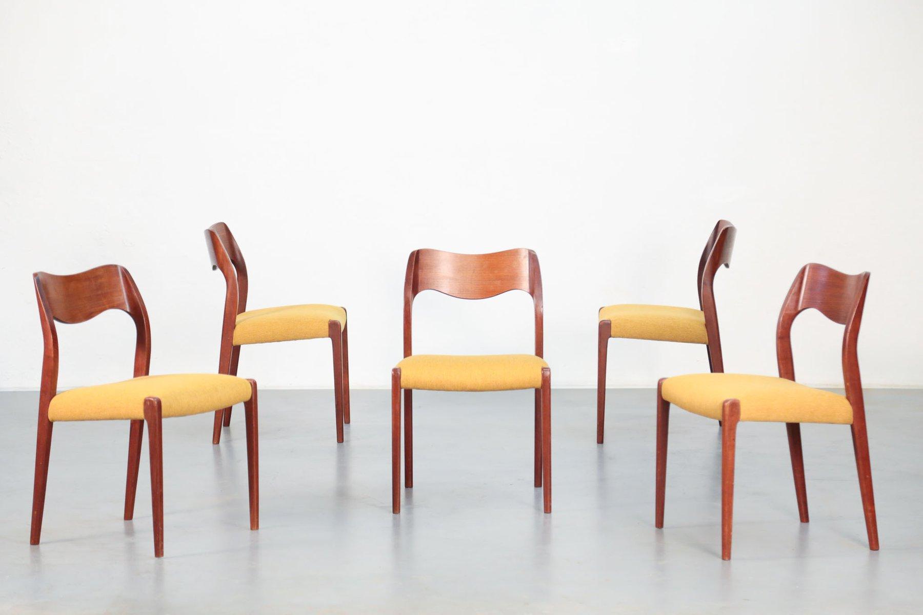 skandinavische st hle von niels otto m ller f r j l. Black Bedroom Furniture Sets. Home Design Ideas