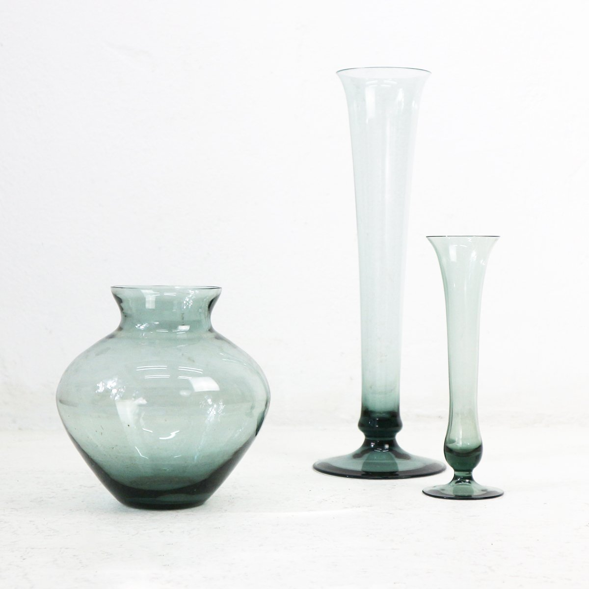 Turmalin series smoked glass vases by wilhelm wagenfeld for wmf turmalin series smoked glass vases by wilhelm wagenfeld for wmf 1950s set of 3 reviewsmspy