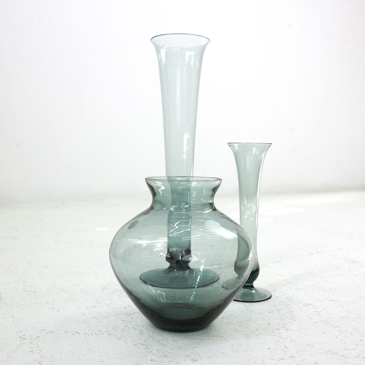 Turmalin series smoked glass vases by wilhelm wagenfeld for wmf price per set reviewsmspy