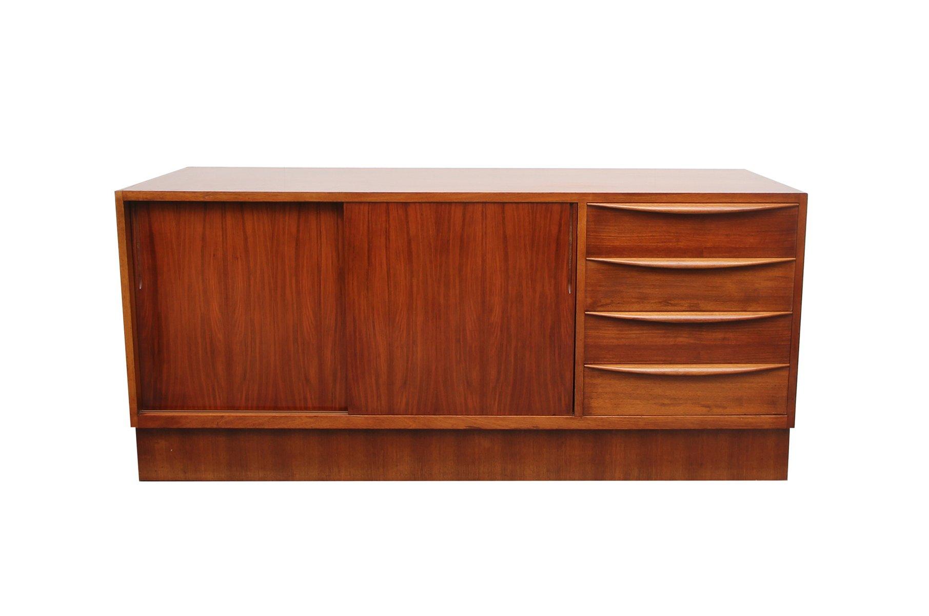sideboard mit schiebet ren von franz ehrlich f r. Black Bedroom Furniture Sets. Home Design Ideas