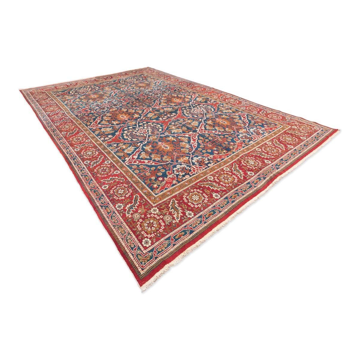 antiker indischer ameritza teppich bei pamono kaufen. Black Bedroom Furniture Sets. Home Design Ideas
