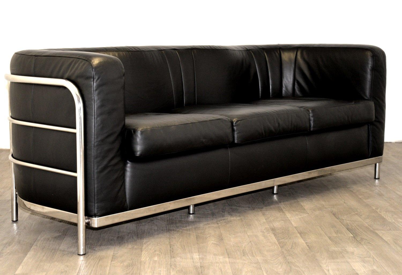 vintage onda sofa aus leder von paolo lomazzi f r zanotta bei pamono kaufen. Black Bedroom Furniture Sets. Home Design Ideas