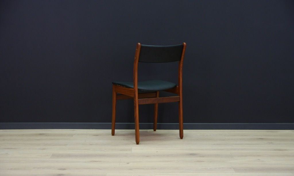skandinavische mid century teak st hle 2er set bei pamono kaufen. Black Bedroom Furniture Sets. Home Design Ideas