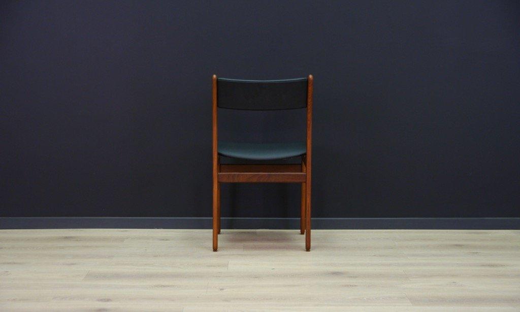 skandinavische mid century teak st hle 2er set bei pamono. Black Bedroom Furniture Sets. Home Design Ideas