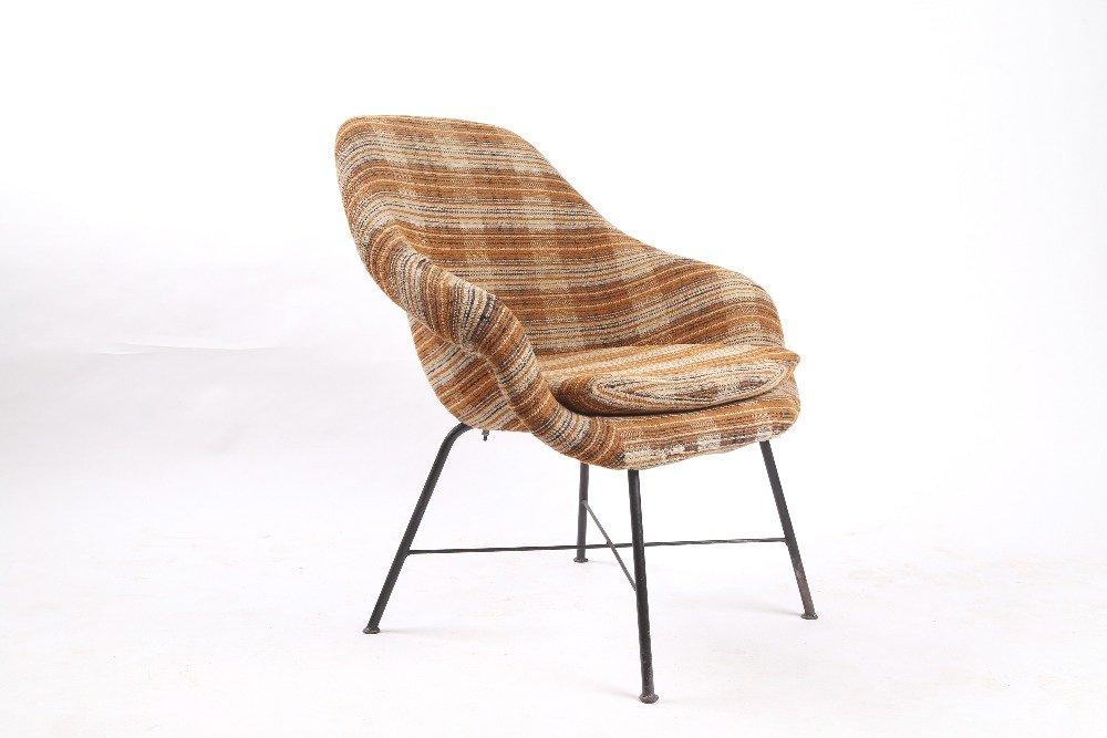 mid century fiberglass sessel 1960er bei pamono kaufen. Black Bedroom Furniture Sets. Home Design Ideas