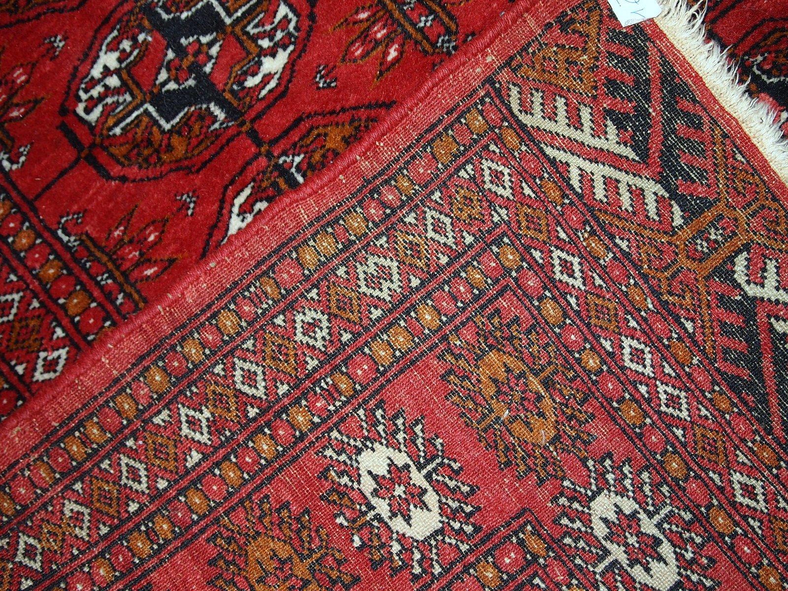 Vintage Handmade Pakistani Tekke Rug 1960s For Sale At Pamono
