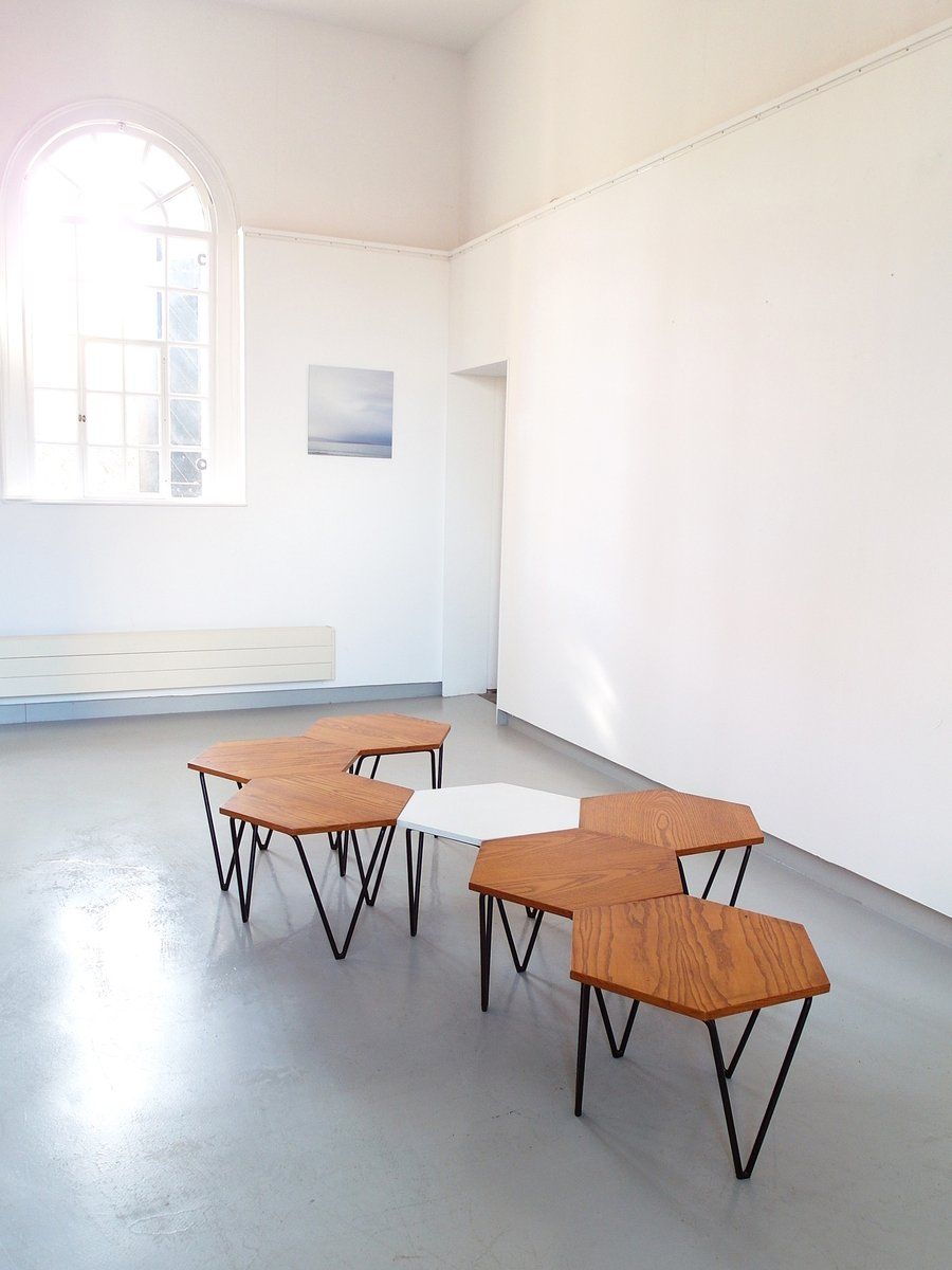 Modular Coffee Tables By Gio Ponti For I S A 1950s Set Of 7 For Sale At Pamono