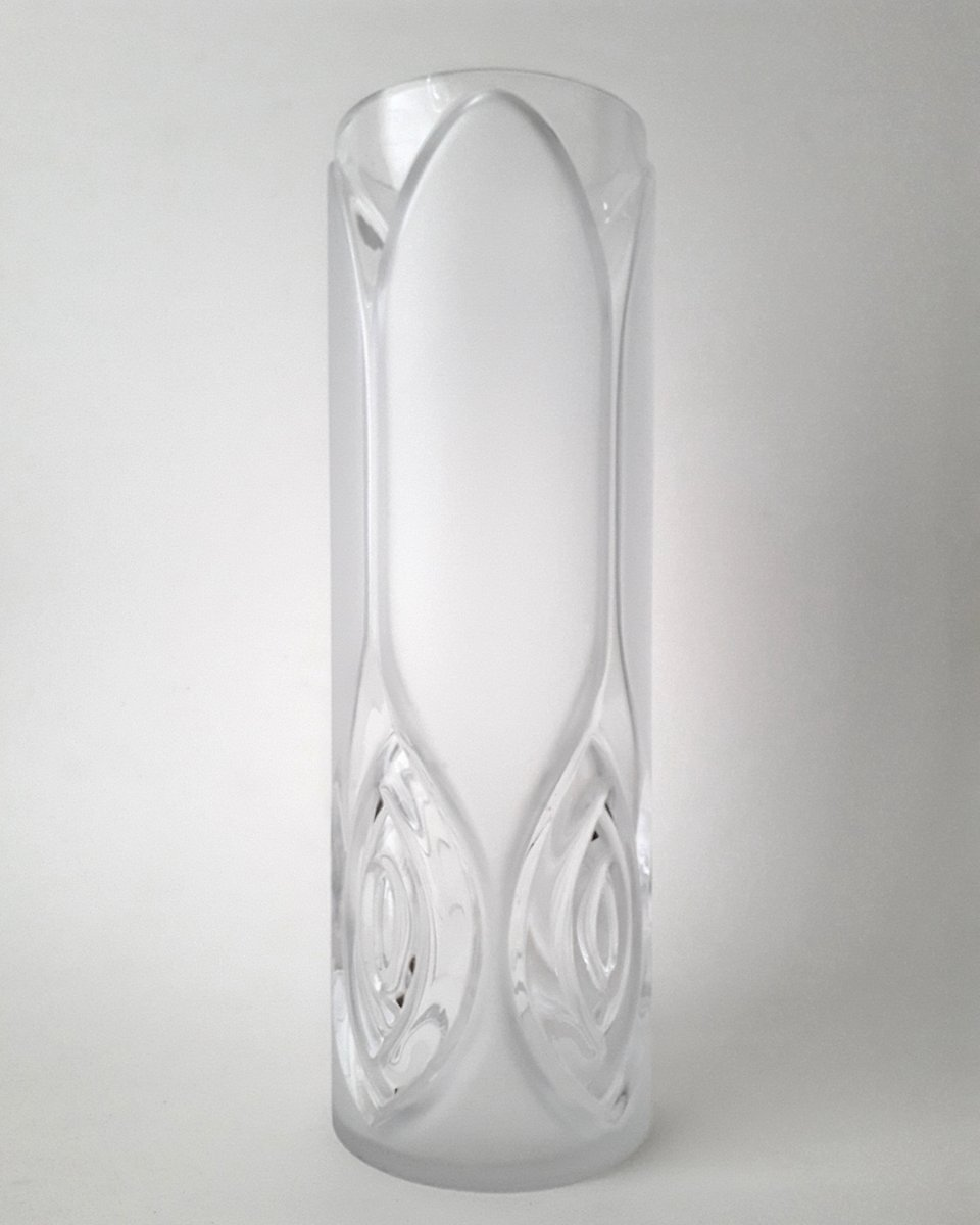 Vintage glass vase from peill putzler 1970s for sale at pamono vintage glass vase from peill putzler 1970s reviewsmspy