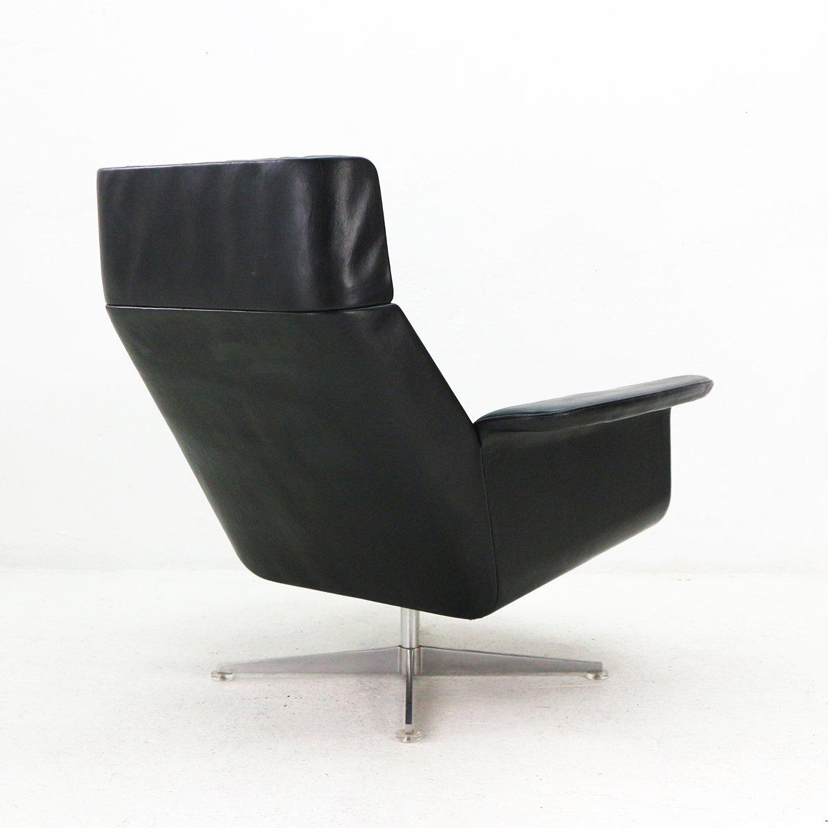 vintage sessel mit ottomane von hans kaufeld 1960er bei pamono kaufen. Black Bedroom Furniture Sets. Home Design Ideas