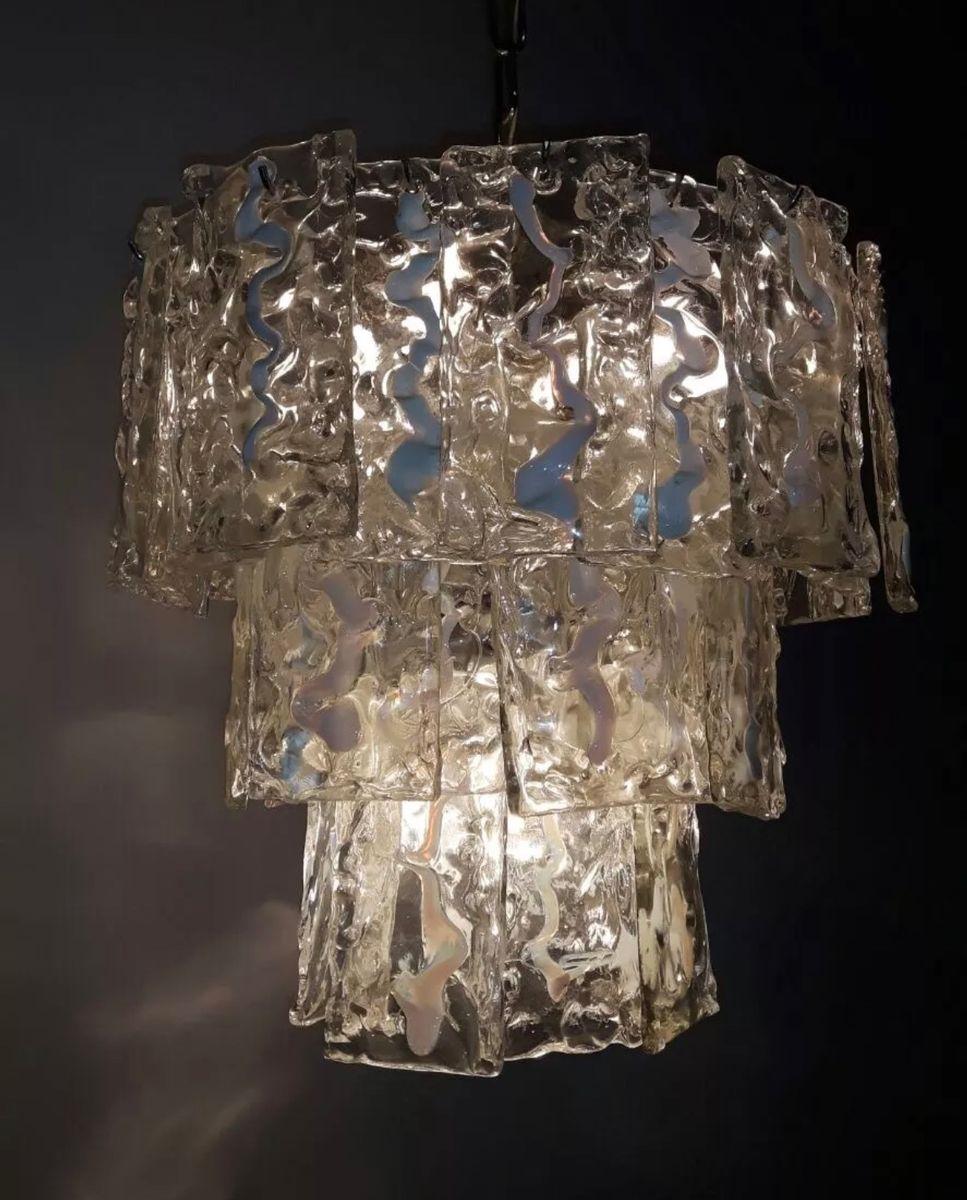 lampe suspension en verre de murano 1970s en vente sur. Black Bedroom Furniture Sets. Home Design Ideas