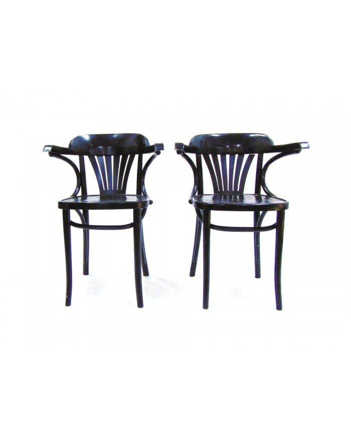 schwarze vintage nordic st hle 4er set bei pamono kaufen. Black Bedroom Furniture Sets. Home Design Ideas