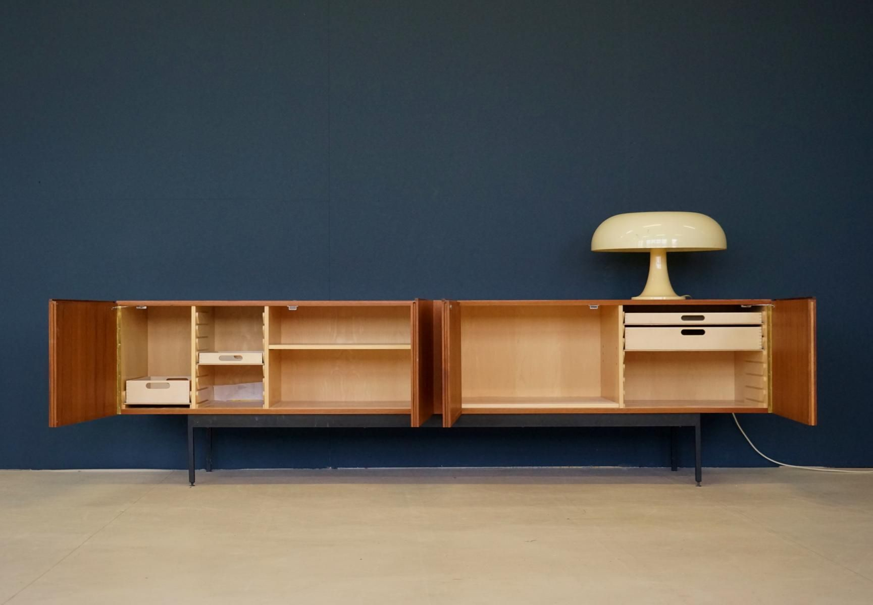 Mid-Century Model B40 Teak Sideboard by Dieter Wäckerlin for Behr ...