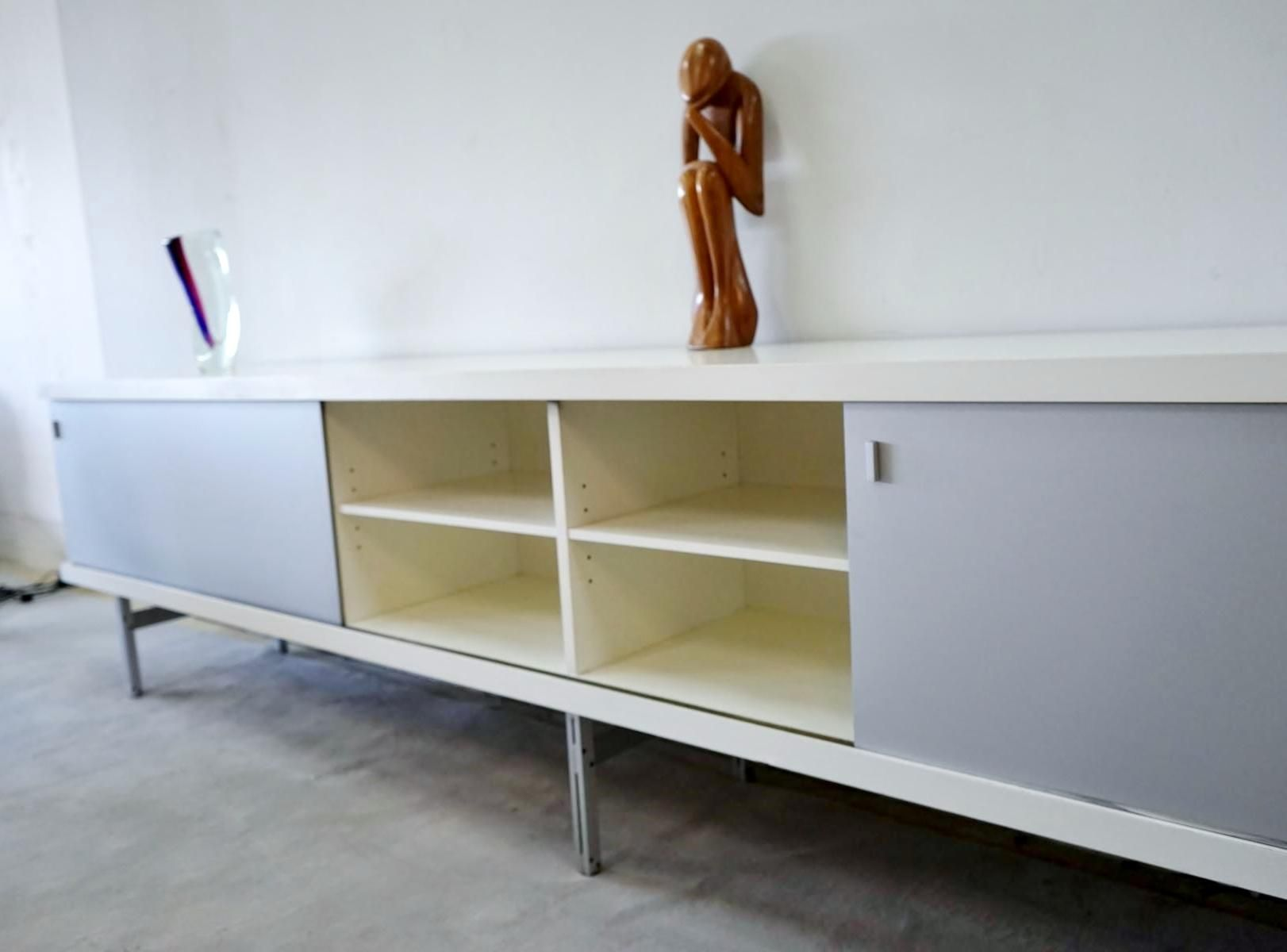 Modell 1730 sideboard von horst br ning f r behr 1960er for Sideboard untergestell