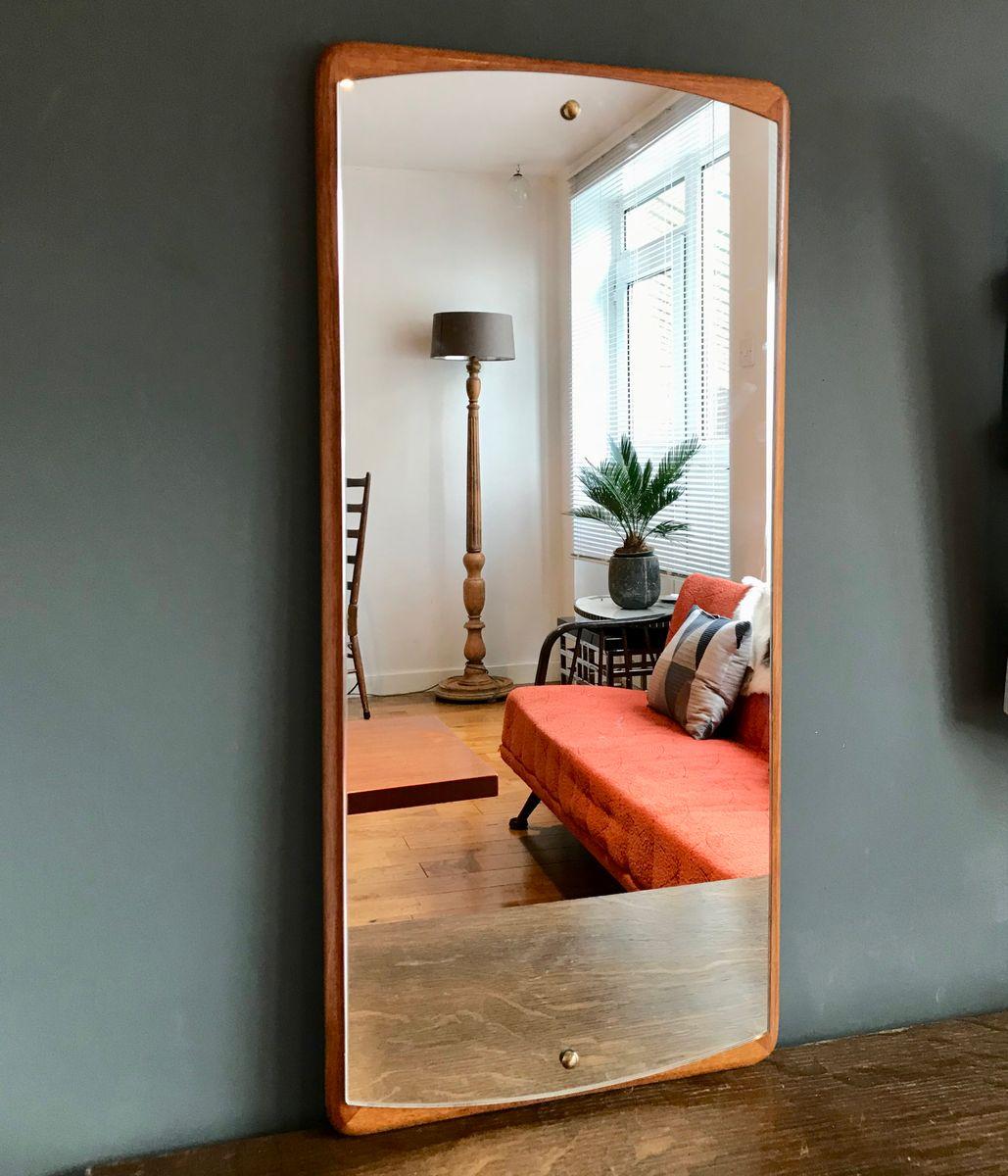 Vintage spiegel mit holzrahmen bei pamono kaufen - Alter spiegel mit holzrahmen ...