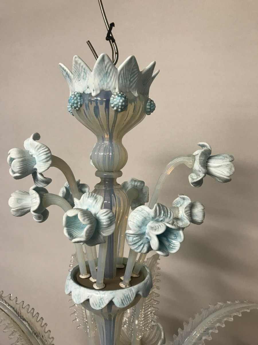 Vintage murano glass chandelier for sale at pamono vintage murano glass chandelier aloadofball Gallery