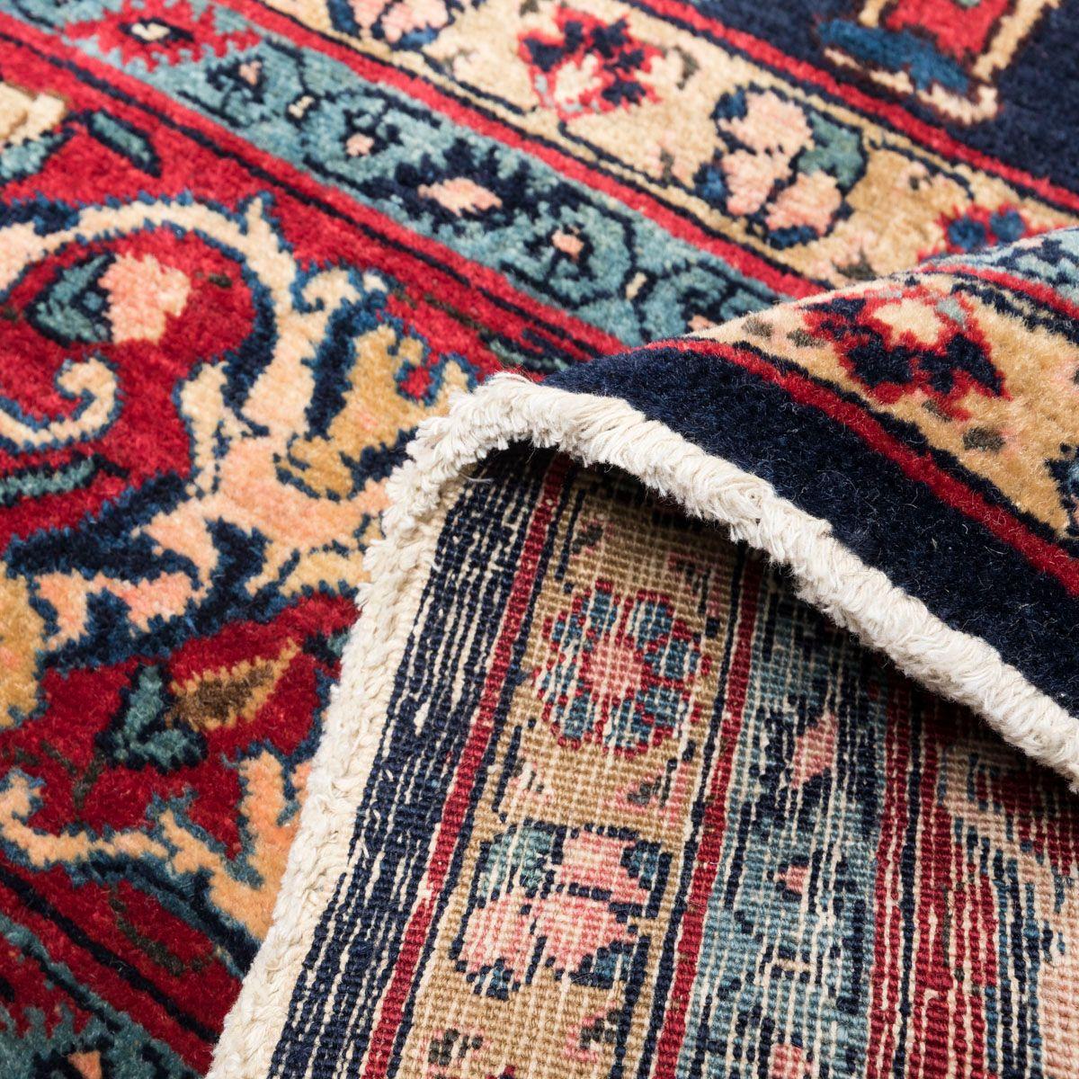 antiker persischer tabriz teppich mit klassischem garrus. Black Bedroom Furniture Sets. Home Design Ideas