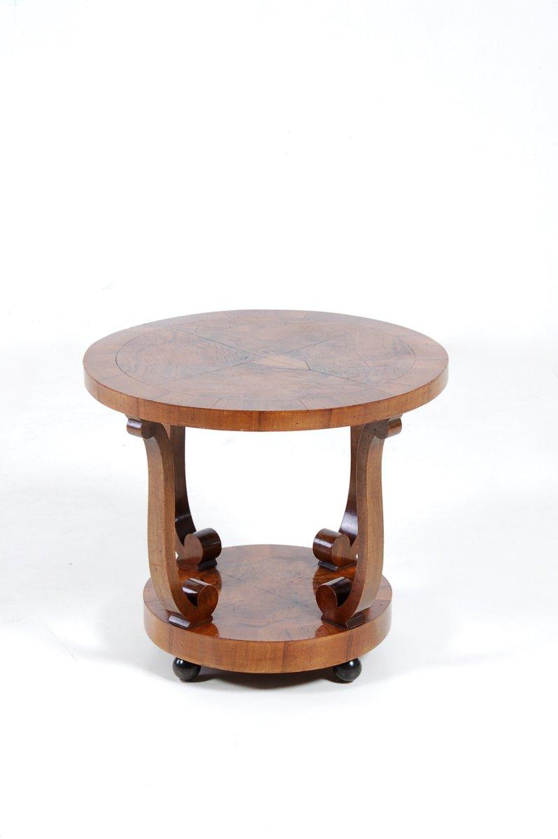 art deco couchtisch aus walnuss wurzelholz 1930er bei pamono kaufen. Black Bedroom Furniture Sets. Home Design Ideas