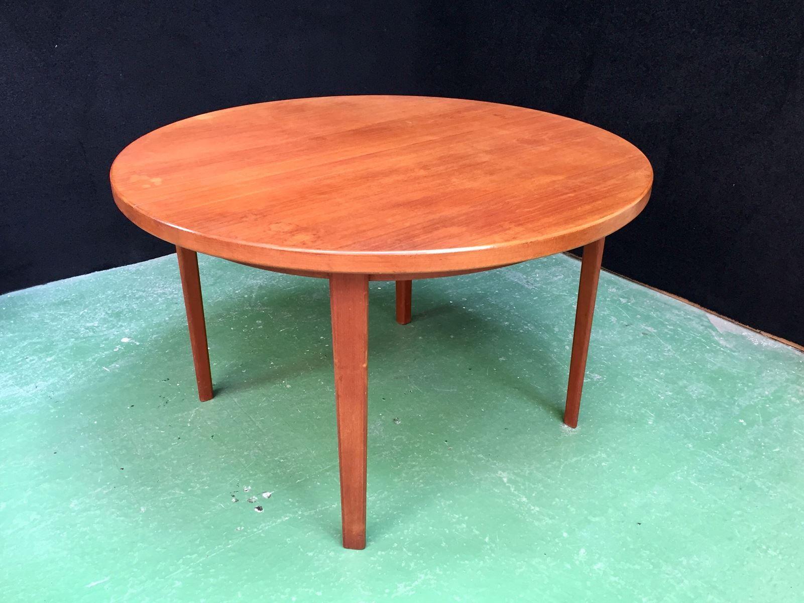 ausziehbarer tisch 1970er bei pamono kaufen. Black Bedroom Furniture Sets. Home Design Ideas