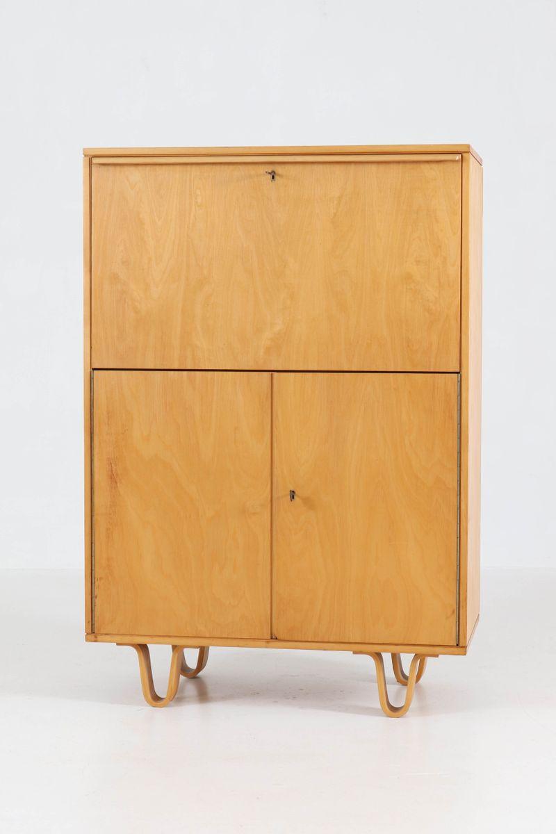 mid century modern sekret r von cees braakman f r pastoe 1950er bei pamono kaufen. Black Bedroom Furniture Sets. Home Design Ideas