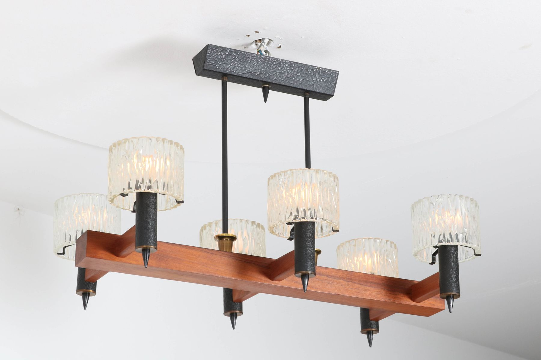 Mid century modern chandelier by carl fagerlund for orrefors sweden mid century modern chandelier by carl fagerlund for orrefors sweden 1950s aloadofball Choice Image