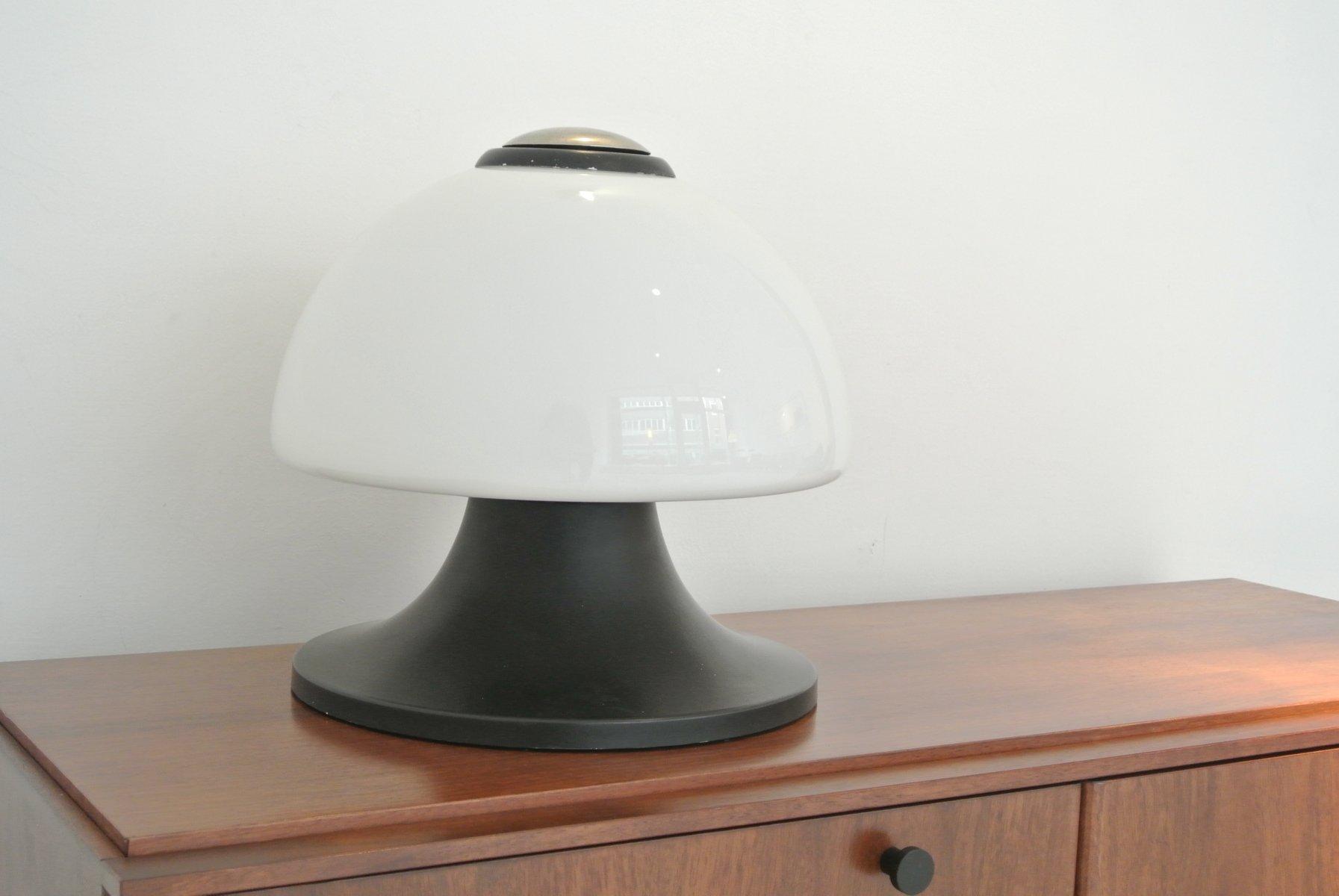 glas tischlampe von stilux milano 1960er bei pamono kaufen. Black Bedroom Furniture Sets. Home Design Ideas