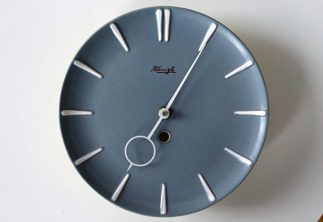 Orologio da cucina in ceramica di Kienzle, anni \'60 in vendita su Pamono