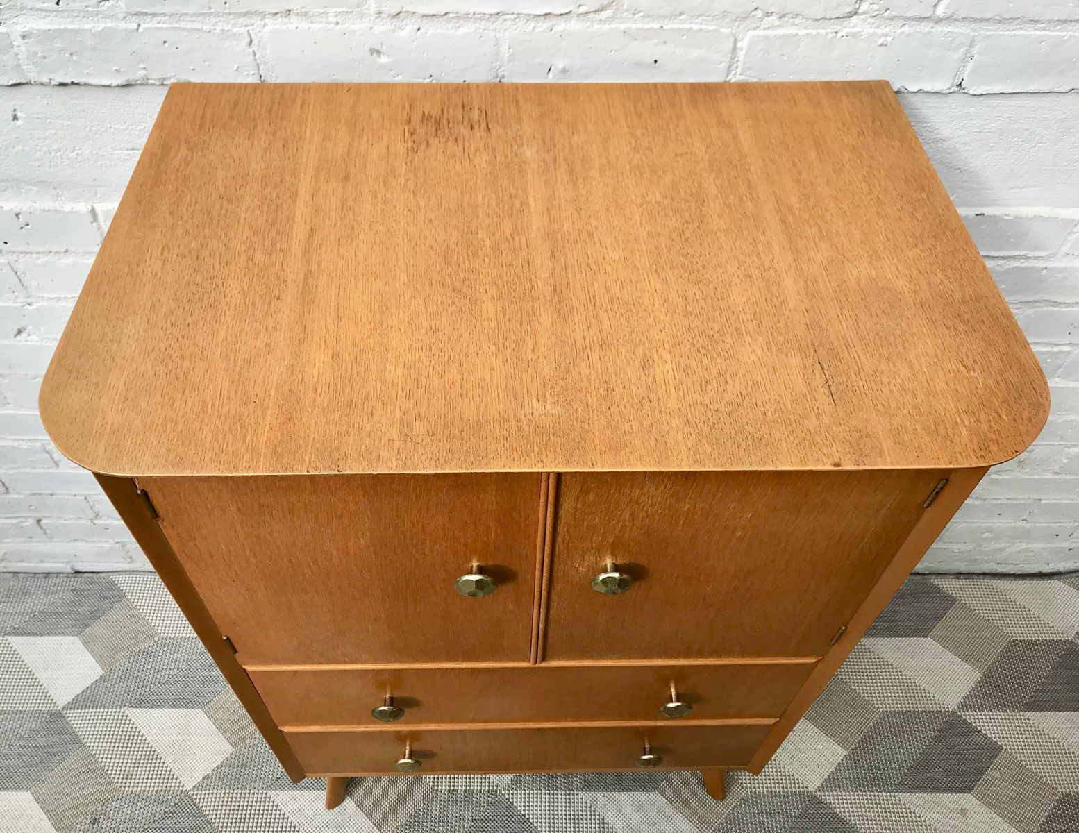 Vintage cabinet with drawers for sale at pamono for Kitchen drawers for sale