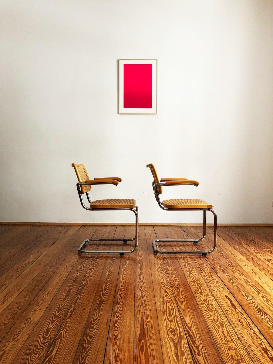 s64 freischwinger von marcel breuer und mart stam f r. Black Bedroom Furniture Sets. Home Design Ideas