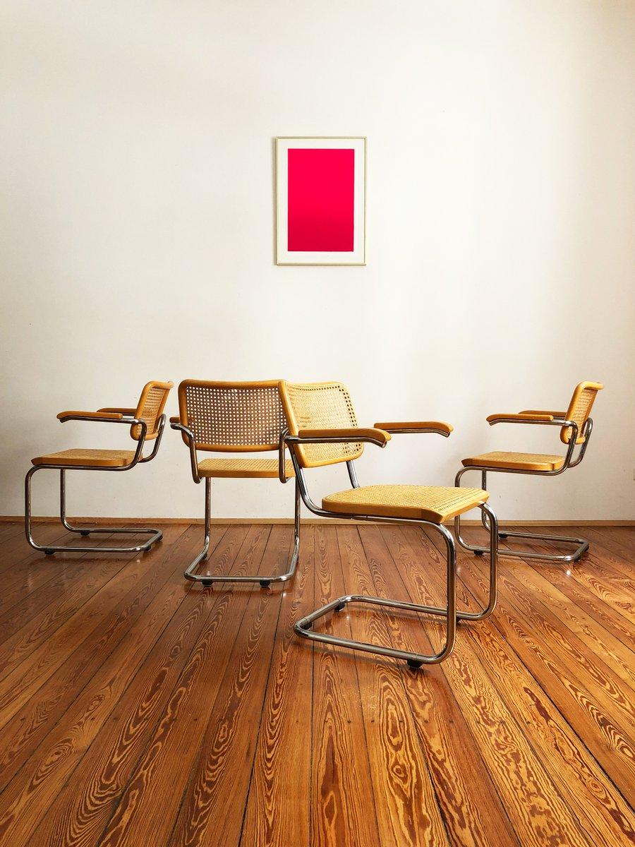 s64 freischwinger von marcel breuer mart stam f r thonet. Black Bedroom Furniture Sets. Home Design Ideas