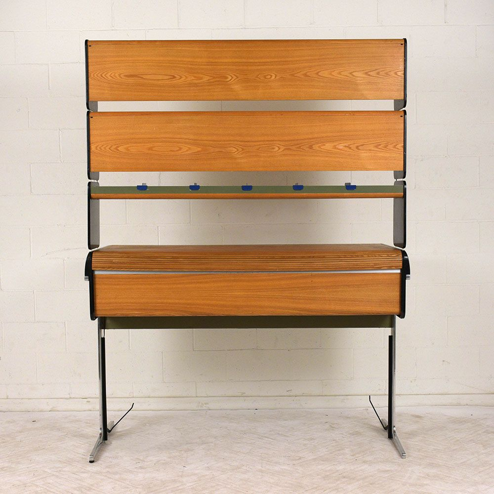 Mid Century Roll Top Desk By George Nelson For Herman