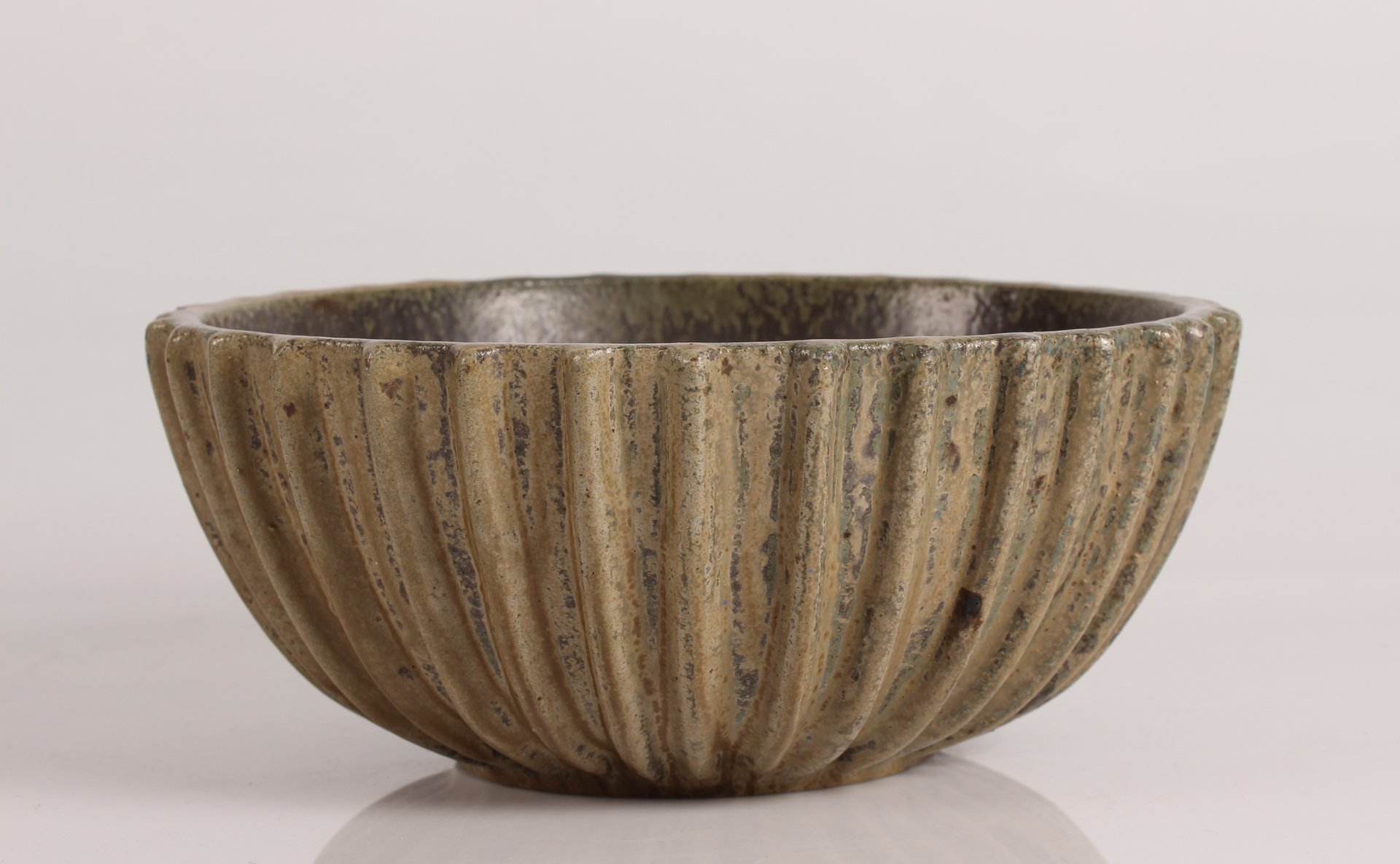 Art Deco Large Danish Ceramic Bowl by Arne Bang 1930s & Art Deco Large Danish Ceramic Bowl by Arne Bang 1930s for sale at ...