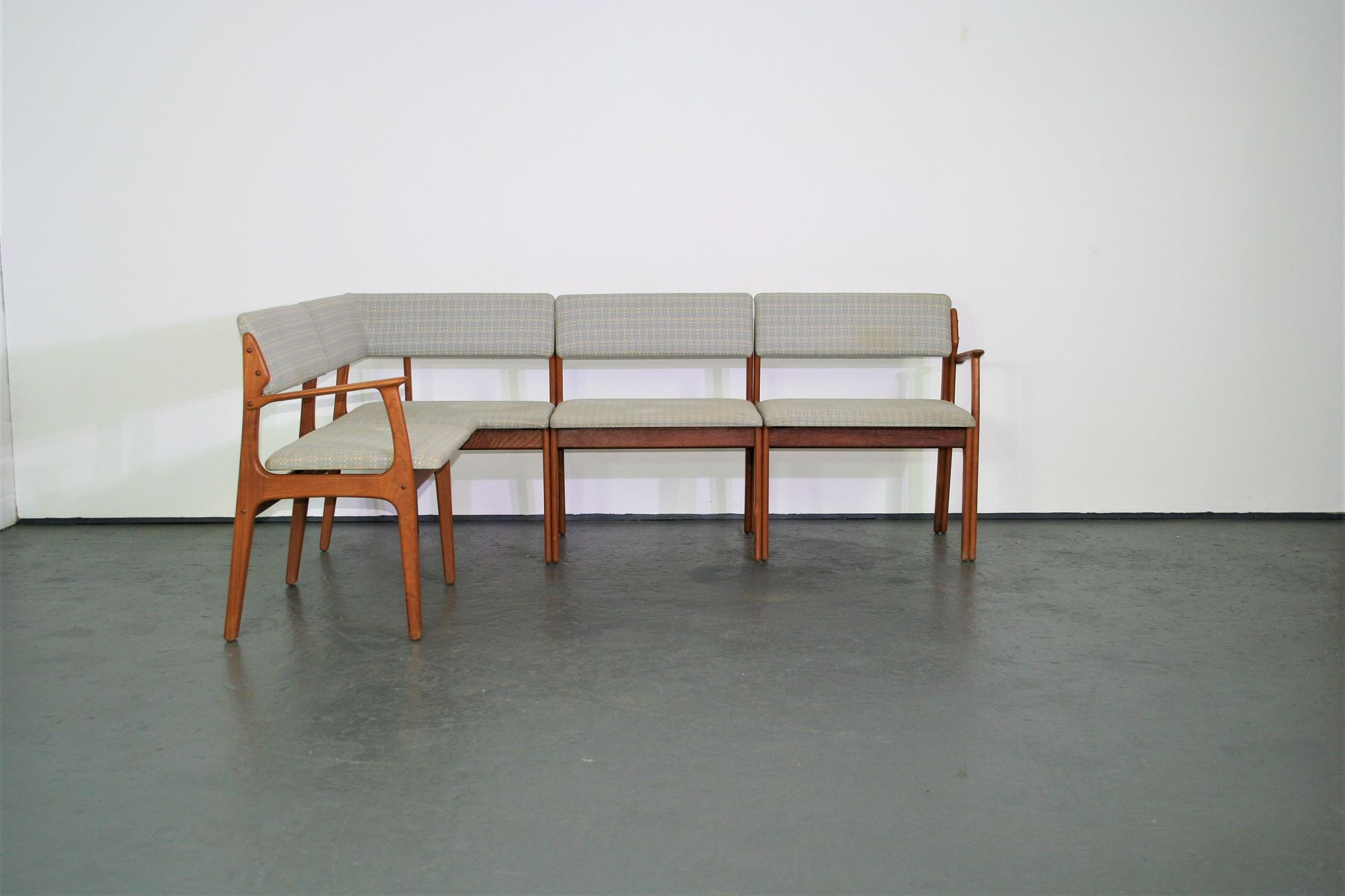 Danish Teak Bench by Erik Buch for O D M¸bler 1960s for sale at Pamono