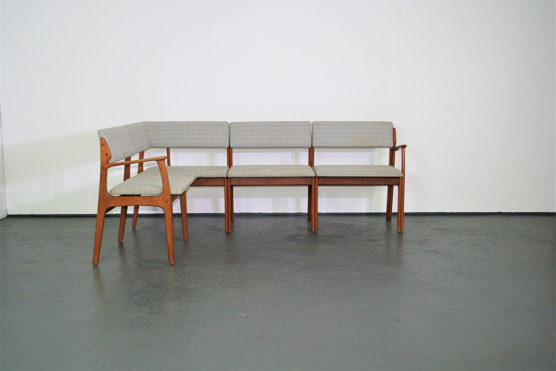 Danish Teak Bench by Erik Buch for O D M¸bler 1960s for sale at