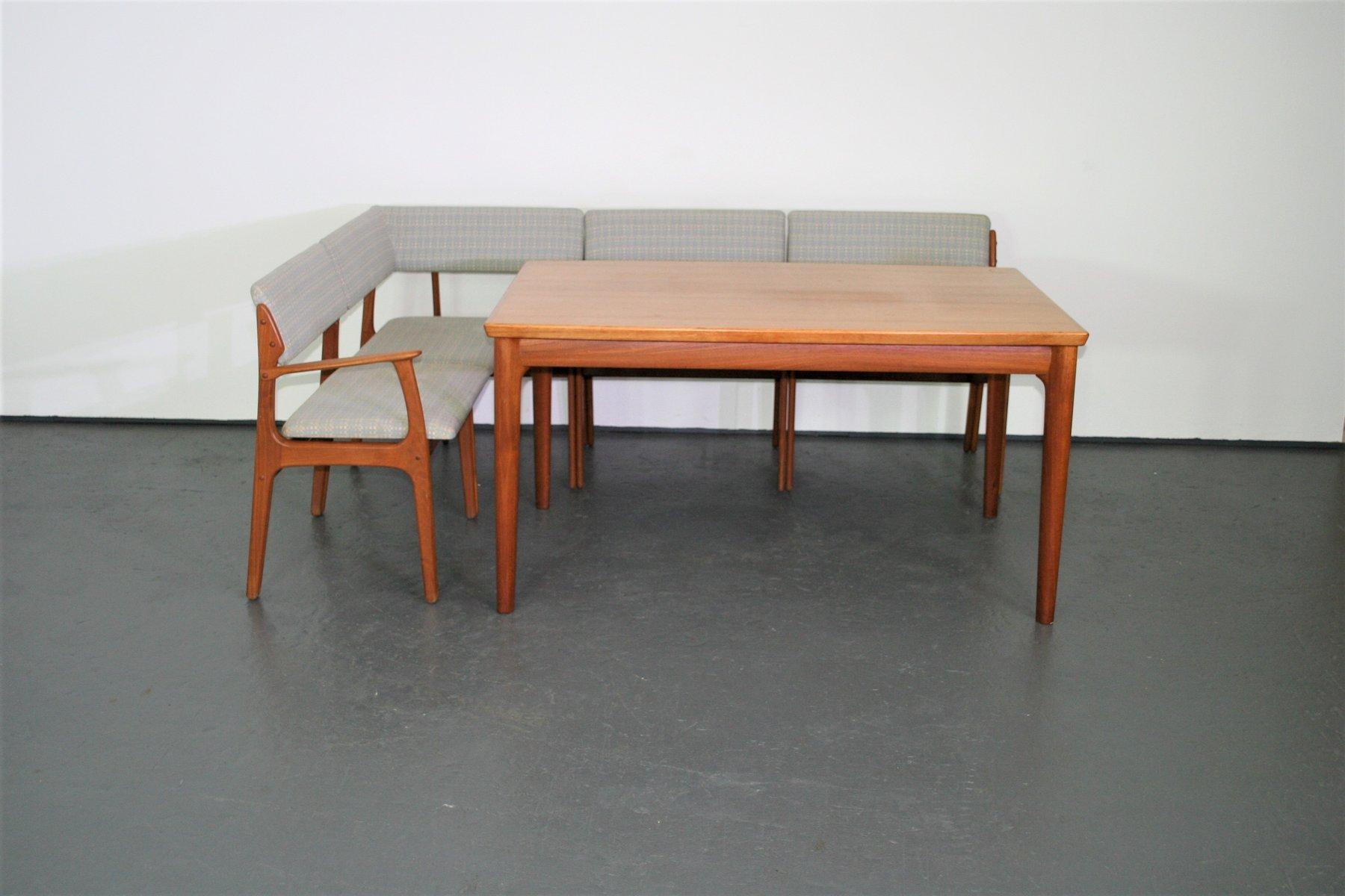 Danish Teak Bench by Erik Buch for O D M¸bler 1960s en vente sur