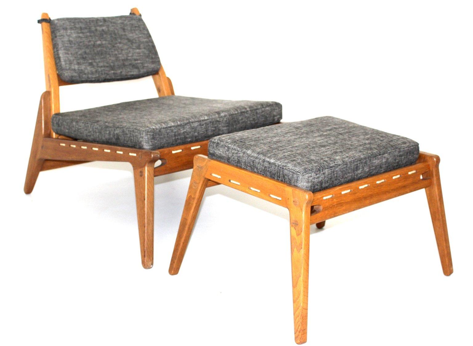 GroBartig ... Sessel Und Ottomane 1960er Bei Pamono Kaufen ...