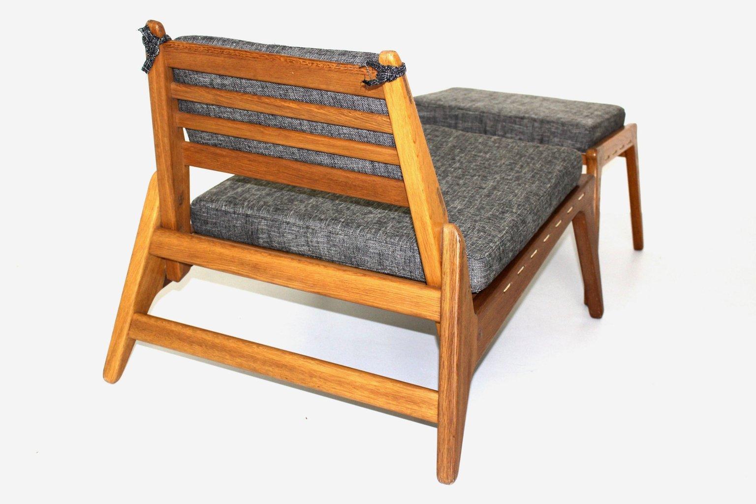 Attraktiv ... Sessel Und Ottomane 1960er Bei Pamono Kaufen ...