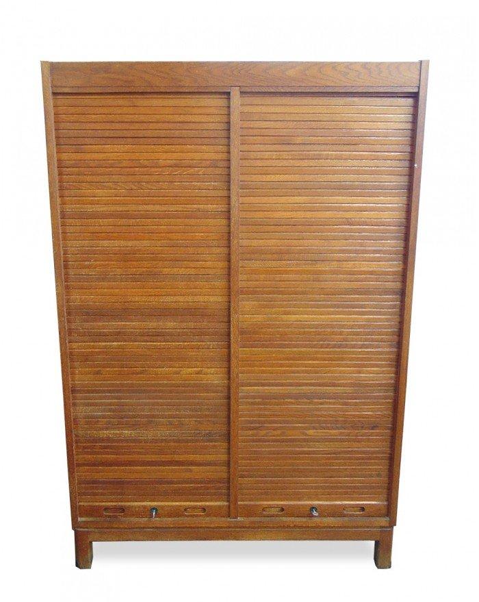 Teak Cabinet with Jalousie Doors 1960s  sc 1 st  Pamono & Teak Cabinet with Jalousie Doors 1960s for sale at Pamono