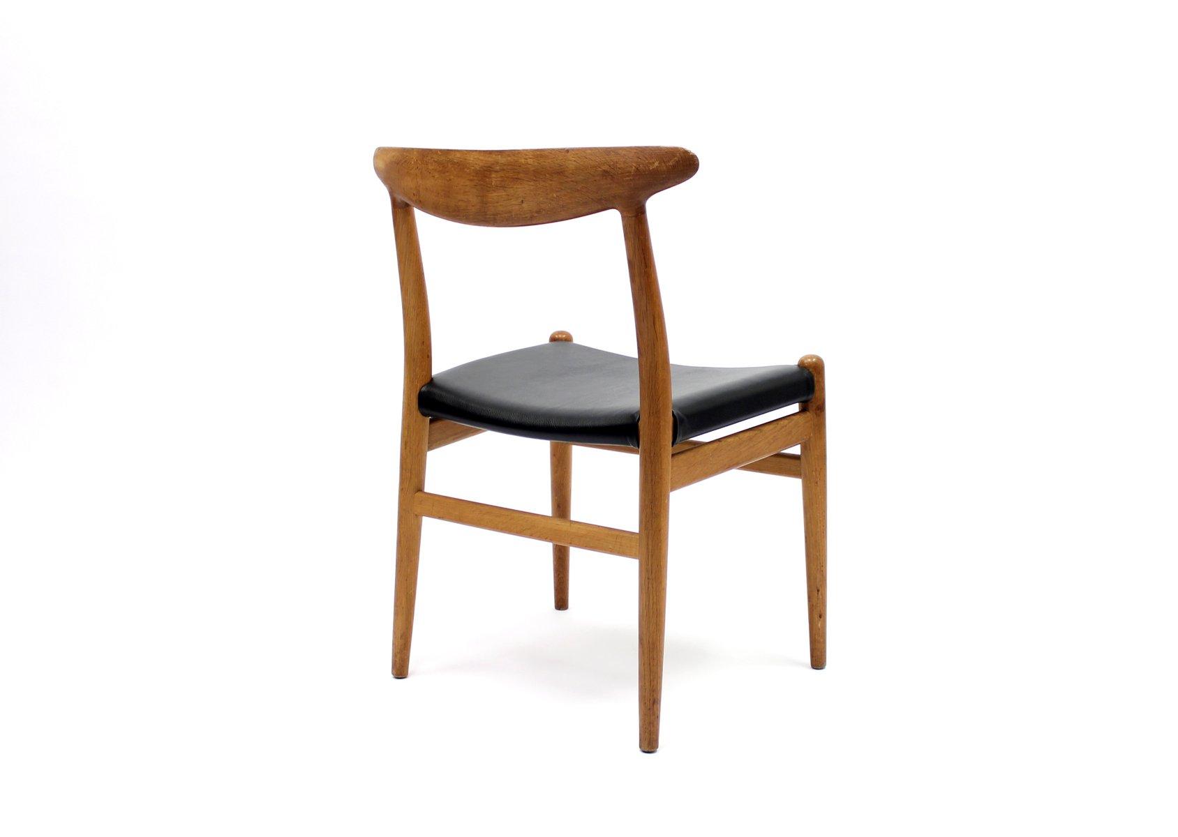 modell w2 stuhl von hans j wegner f r c m madsen 1960er. Black Bedroom Furniture Sets. Home Design Ideas