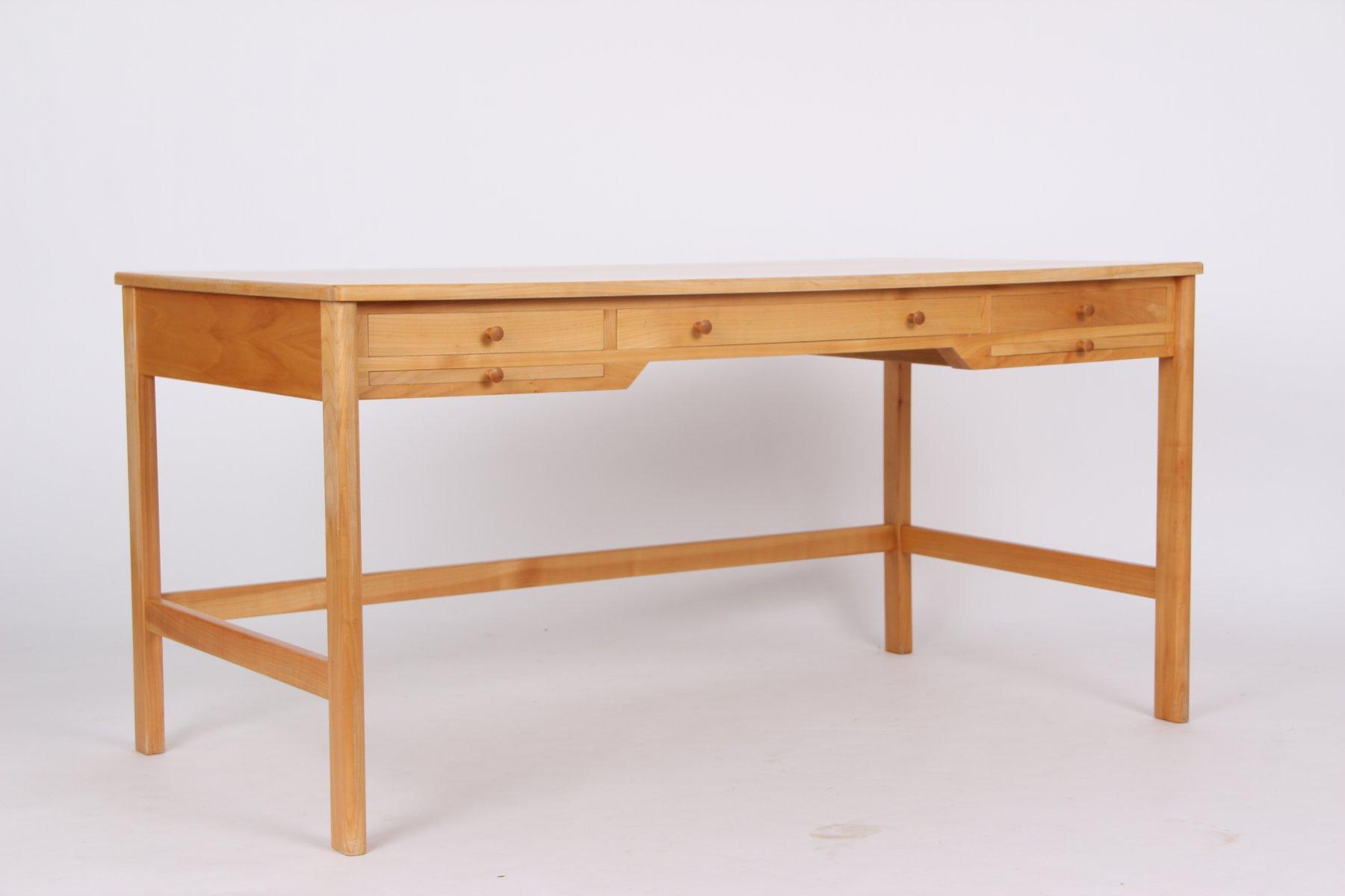 kirschholz schreibtisch von rigmor andersen 1960er bei pamono kaufen. Black Bedroom Furniture Sets. Home Design Ideas
