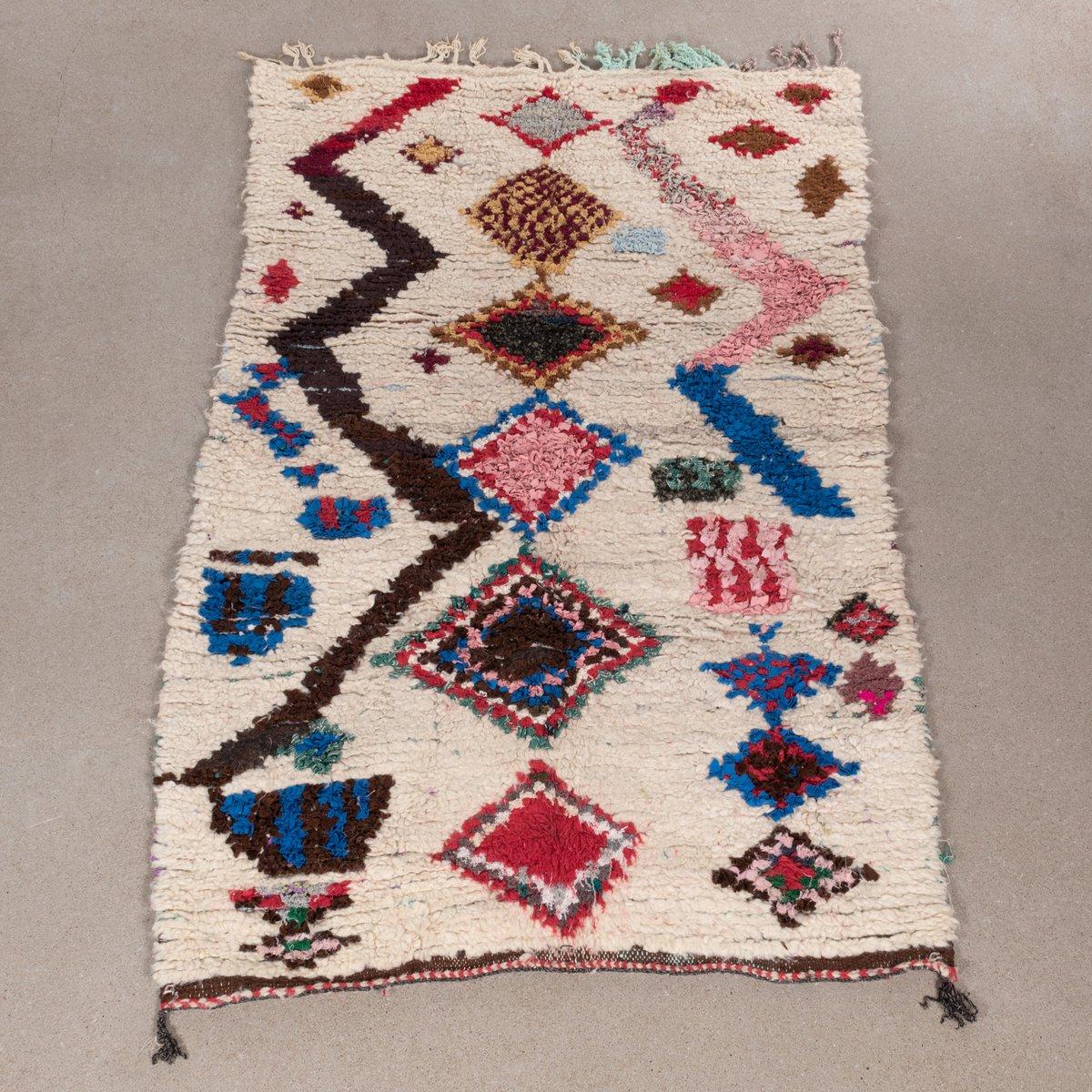 marokkanischer vintage ourika teppich bei pamono kaufen. Black Bedroom Furniture Sets. Home Design Ideas