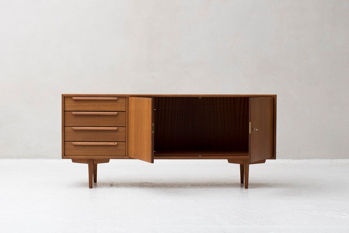 sideboard from wk m bel 1960s for sale at pamono. Black Bedroom Furniture Sets. Home Design Ideas