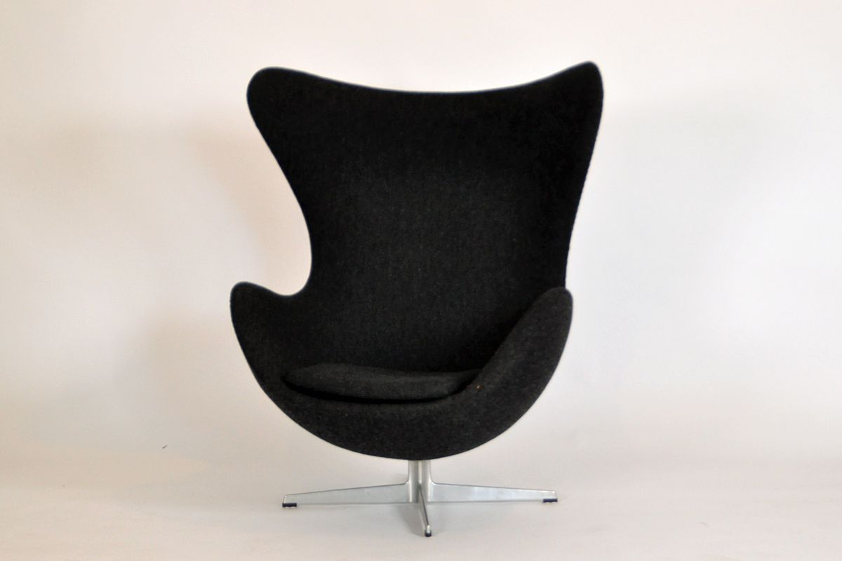 Egg Chair By Arne Jacobsen For Fritz Hansen, 1950s For Sale At Pamono
