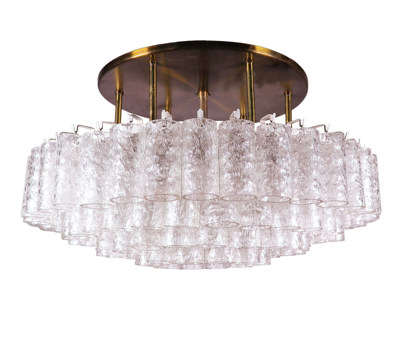 stores crystal chandeliers lights ceiling smoke crystals white flush and brizzo round contemporary shade lamp lighting s picture of chandelier finish mount black clear chrome organza