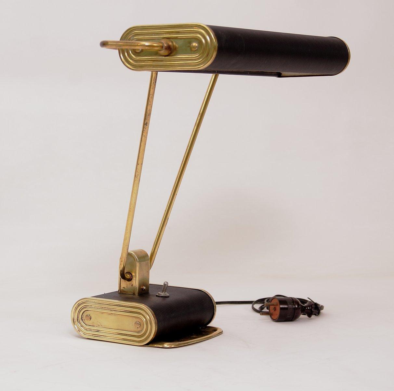 mid century lampe von eileen gray f r jumo bei pamono kaufen. Black Bedroom Furniture Sets. Home Design Ideas