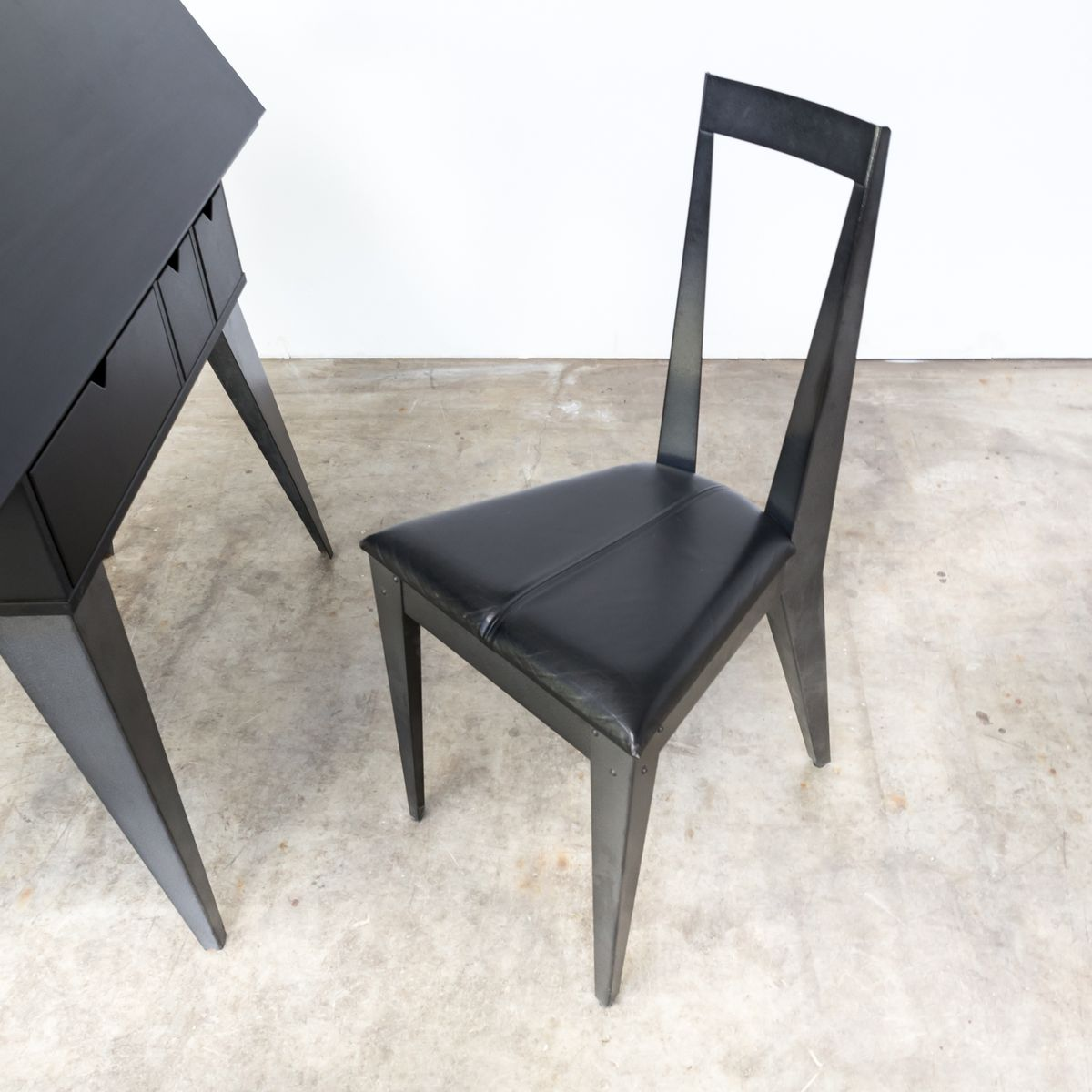 Secretaire and chair by tjord bj rklund for ikea 1990s for sale at pamono - Ikea bureau secretaire ...