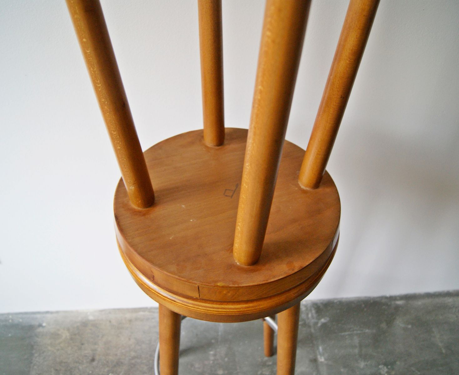 Wooden Bar Stools 1960s Set Of 2 For Sale At Pamono