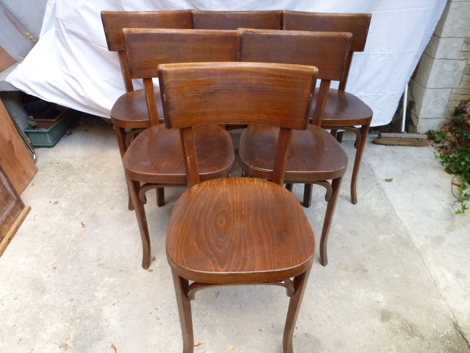 Vintage Bistro Chairs From Baumann, Set Of 6 For Sale At Pamono. Vintage  Bistro Chairs From Baumann Set Of 6 For Sale At Pamono