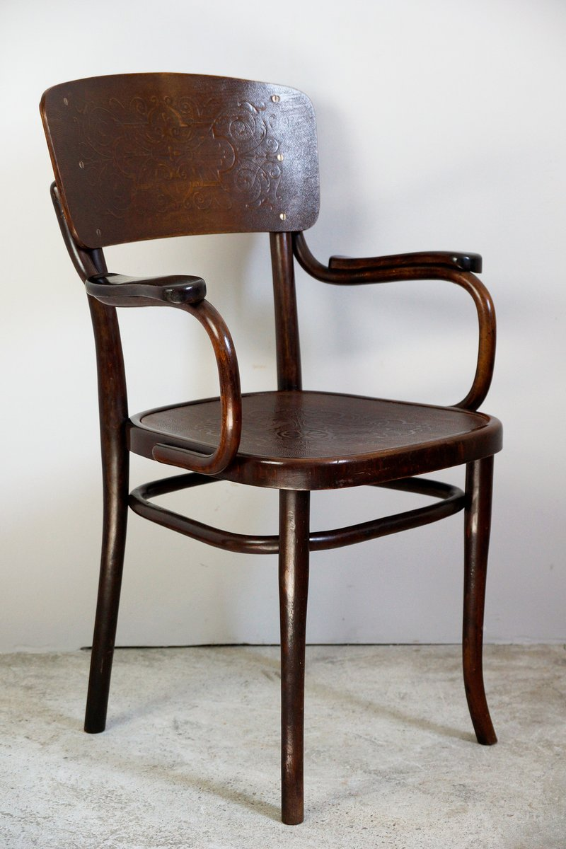 bugholz stuhl von thonet 1910er bei pamono kaufen. Black Bedroom Furniture Sets. Home Design Ideas