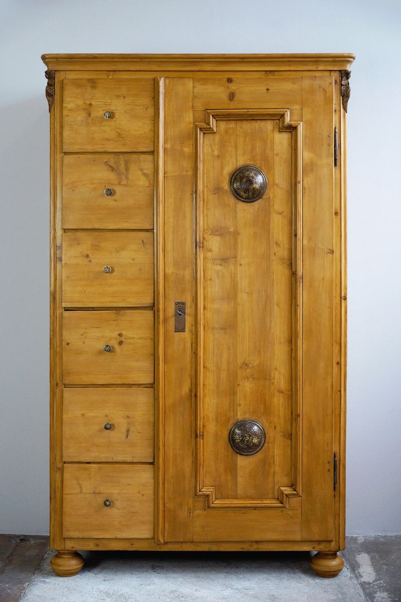 Antique Bread or Kitchen Cabinet, 1870s - Antique Bread Or Kitchen Cabinet, 1870s For Sale At Pamono