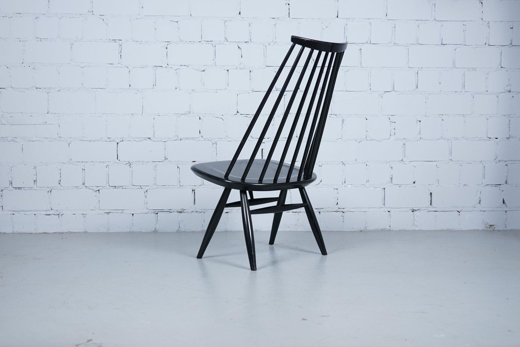 schwarze mademoiselle st hle von ilmari tapiovaara f r asko 1950er 2er set bei pamono kaufen. Black Bedroom Furniture Sets. Home Design Ideas